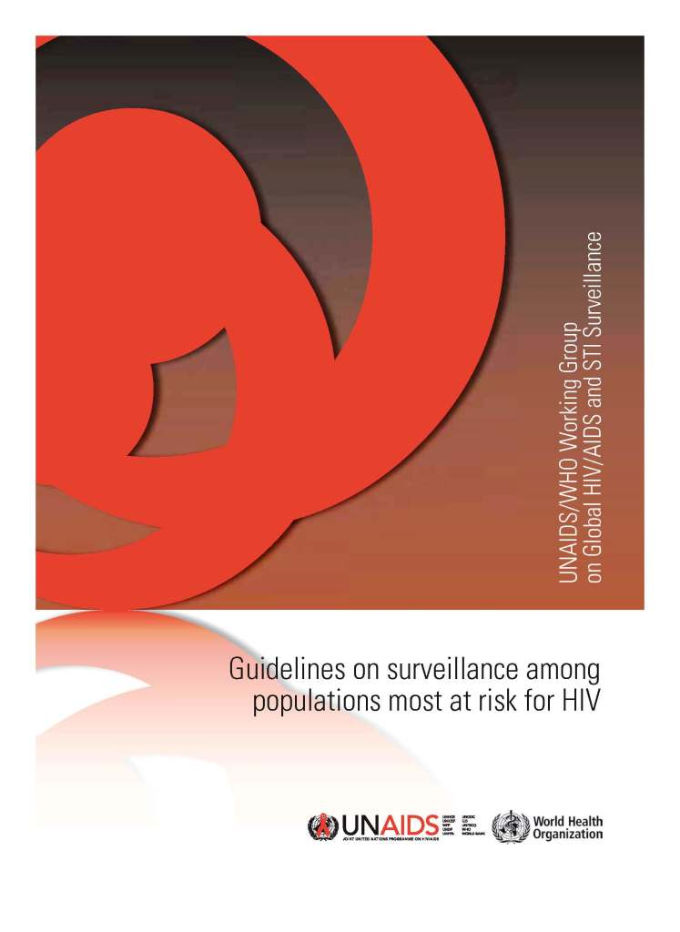 Guidelines on surveillance among populations most at risk for HIV