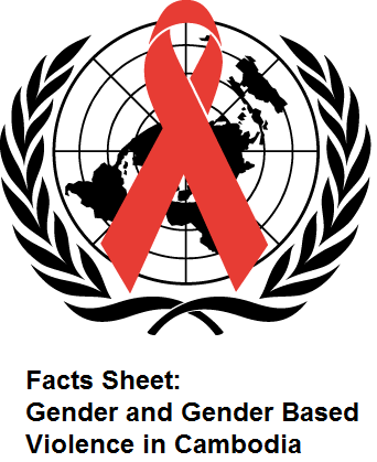 Facts Sheet: Gender and Gender Based Violence in Cambodia