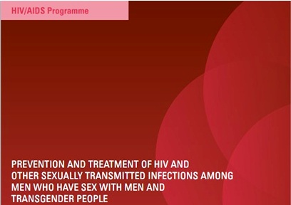 Prevention and treatment of HIV and other sexually transmitted infections among men who have sex with men and transgende