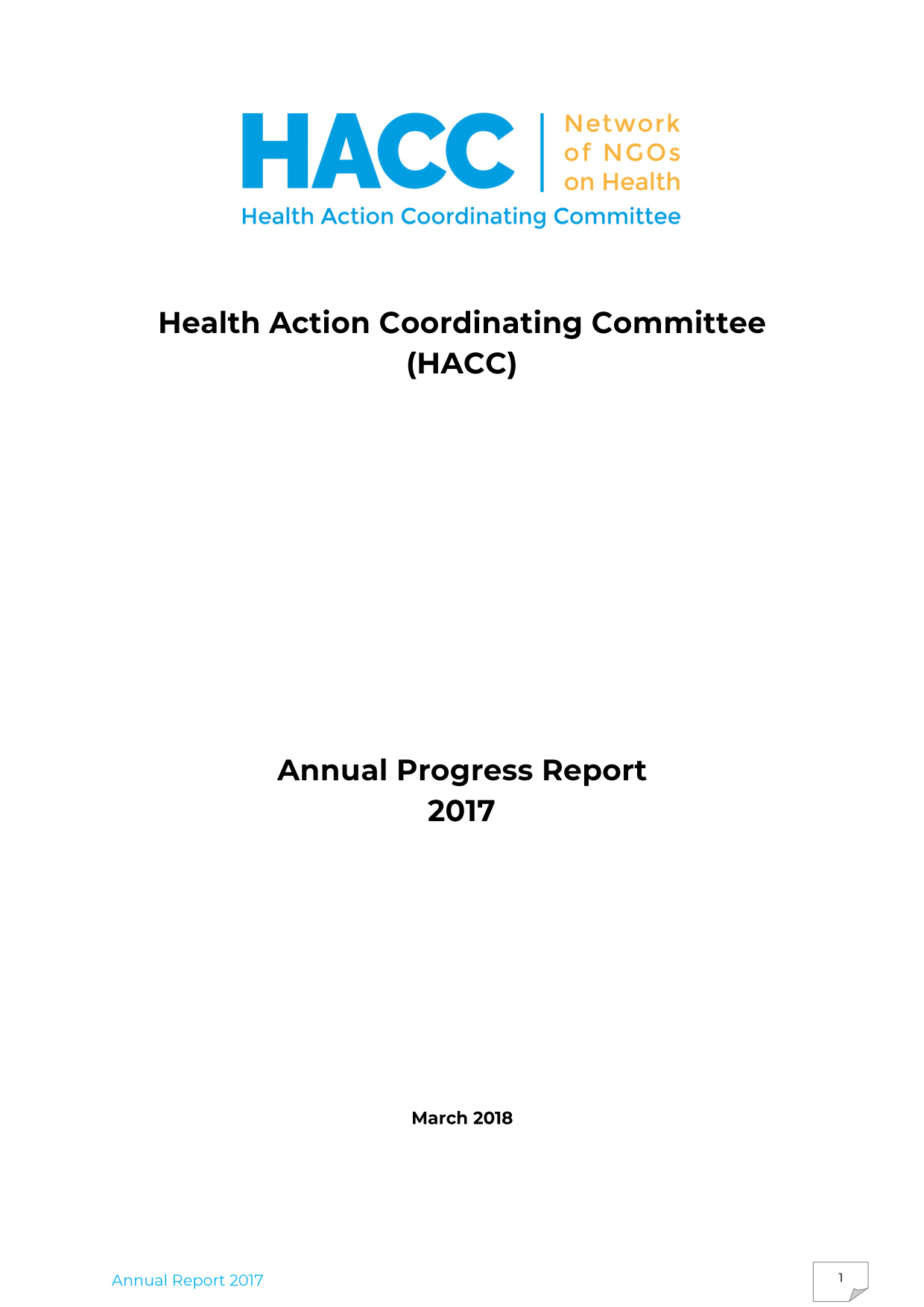 HACC Annual Report 2017