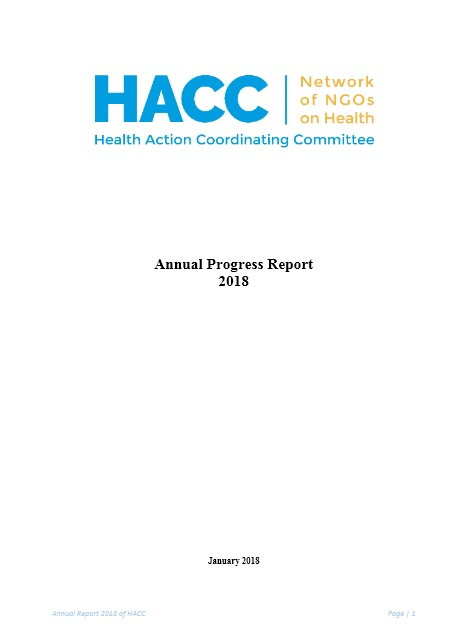 HACC Annual Report 2018